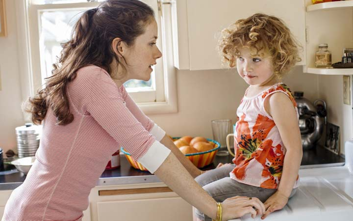 چطور بدون تنش با فرزندم حرف بزنم و با حوصله به او گوش دهم